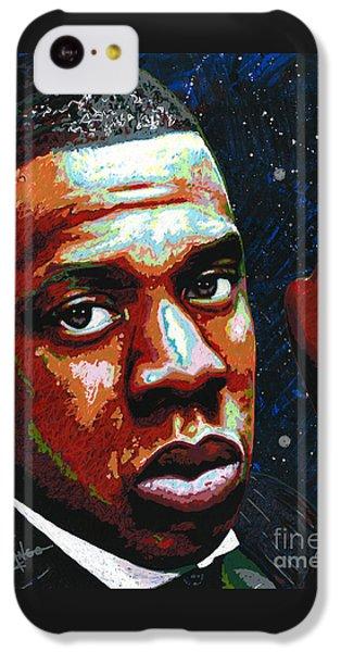 I Am Jay Z IPhone 5c Case by Maria Arango
