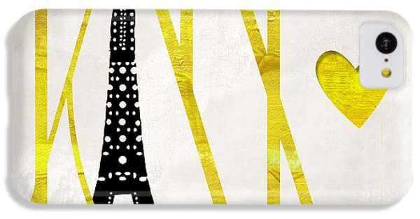 I Love Paris IPhone 5c Case by Mindy Sommers