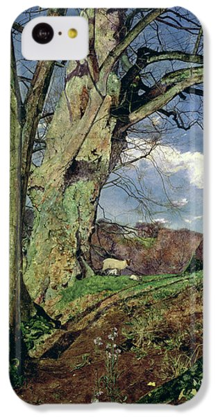 In Early Spring IPhone 5c Case by John William Inchbold