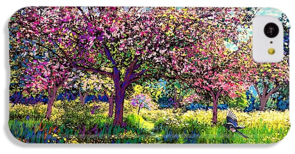 In Love With Spring, Blossom Trees IPhone 5c Case by Jane Small