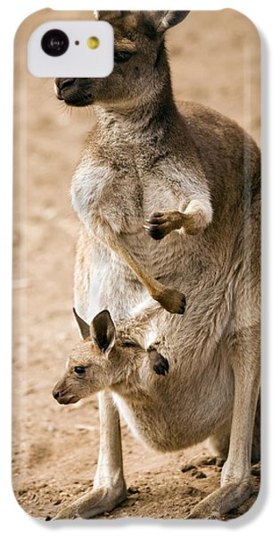 In  Mother's Care IPhone 5c Case by Mike  Dawson