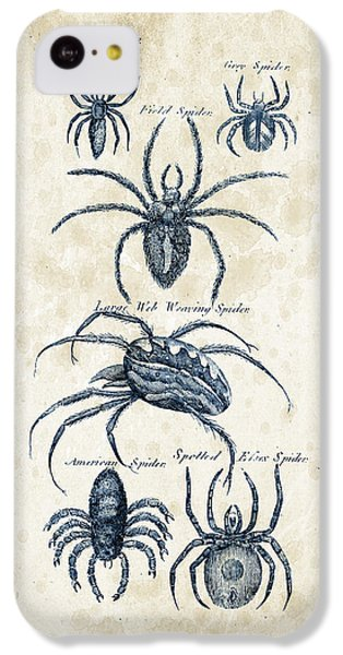 Insects - 1792 - 18 IPhone 5c Case by Aged Pixel