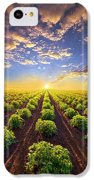 Into The Future IPhone 5c Case by Phil Koch
