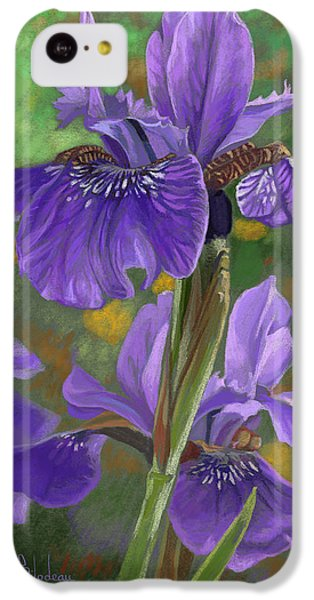 Irises IPhone 5c Case by Lucie Bilodeau