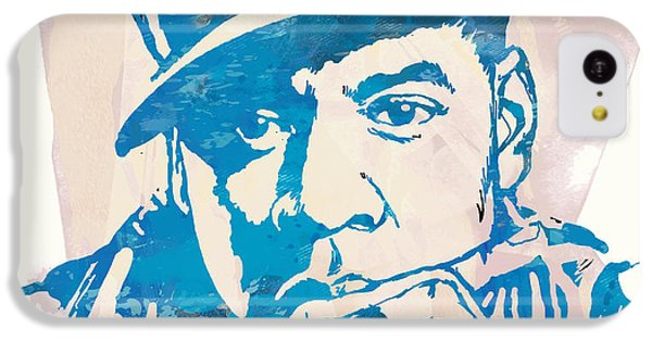 Jay-z  Etching Pop Art Poster IPhone 5c Case by Kim Wang