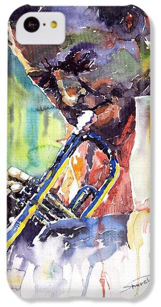 Jazz Miles Davis 9 Blue IPhone 5c Case by Yuriy  Shevchuk
