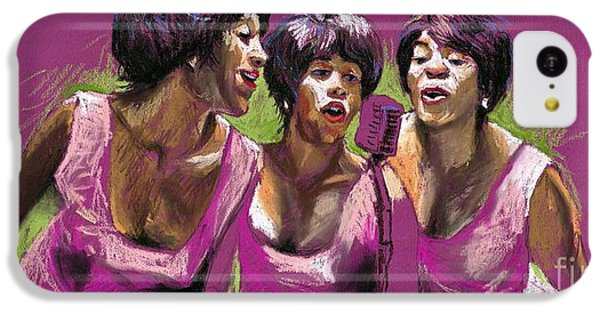 Jazz Trio IPhone 5c Case by Yuriy  Shevchuk