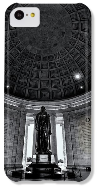 Jefferson Statue In The Memorial IPhone 5c Case by Andrew Soundarajan