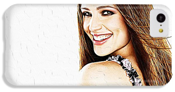 Jennifer Garner IPhone 5c Case by Iguanna Espinosa