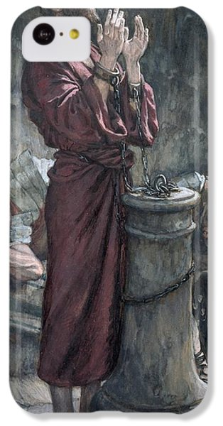 Jesus In Prison IPhone 5c Case by Tissot