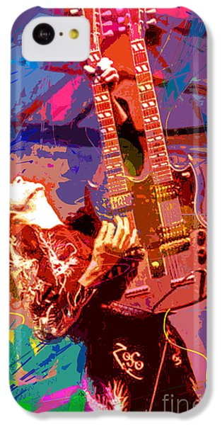 Jimmy Page Stairway To Heaven IPhone 5c Case by David Lloyd Glover