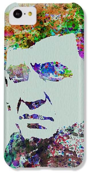 Johnny Cash Watercolor 2 IPhone 5c Case by Naxart Studio