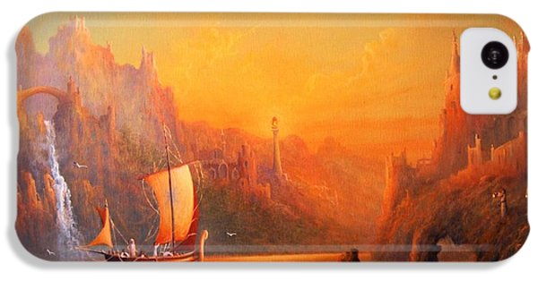 Journey To The Undying Lands IPhone 5c Case by Joe  Gilronan