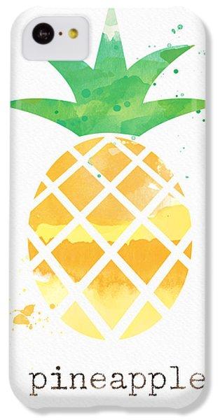 Juicy Pineapple IPhone 5c Case by Linda Woods