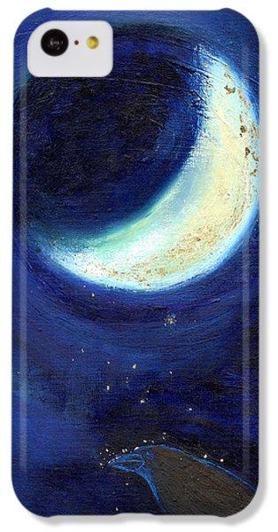 July Moon IPhone 5c Case by Nancy Moniz