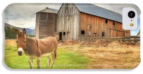 Just Another Day On The Farm IPhone 5c Case by Donna Kennedy