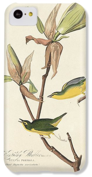 Kentucky Warbler IPhone 5c Case by John James Audubon