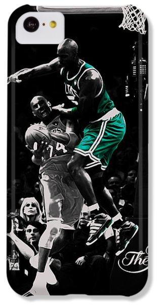 Kevin Garnett Not In Here IPhone 5c Case by Brian Reaves