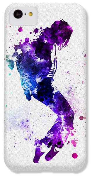 King Of Pop IPhone 5c Case by Rebecca Jenkins
