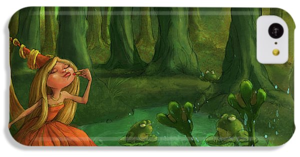 Kissing Frogs IPhone 5c Case by Andy Catling