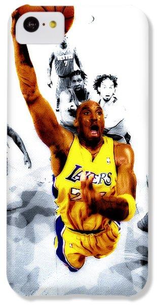 Kobe Bryant Took Flight IPhone 5c Case by Brian Reaves