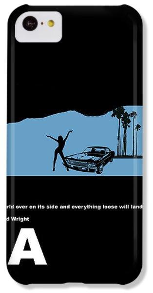 La Night Poster IPhone 5c Case by Naxart Studio