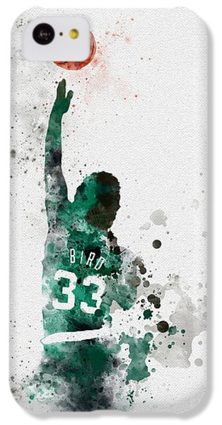Larry Bird IPhone 5c Case by Rebecca Jenkins