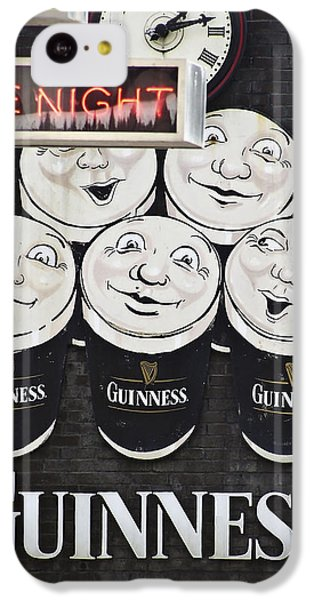 Late Night Guinness Limerick Ireland IPhone 5c Case by Teresa Mucha