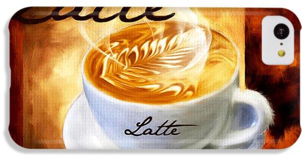 Latte IPhone 5c Case by Lourry Legarde