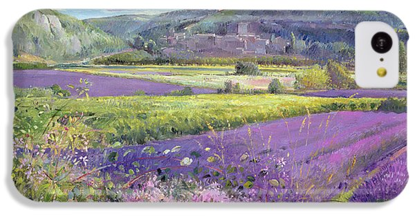 Lavender Fields In Old Provence IPhone 5c Case by Timothy Easton