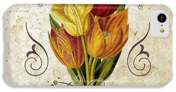 Le Jardin Tulipes IPhone 5c Case by Mindy Sommers