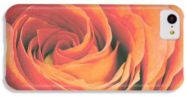 Le Petale De Rose IPhone 5c Case by Angela Doelling AD DESIGN Photo and PhotoArt