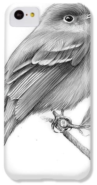 Least Flycatcher IPhone 5c Case by Greg Joens