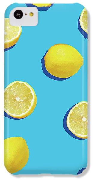 Lemon Pattern IPhone 5c Case by Rafael Farias