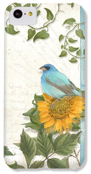 Les Magnifiques Fleurs Iv - Secret Garden IPhone 5c Case by Audrey Jeanne Roberts