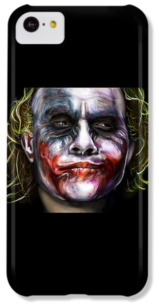 Let's Put A Smile On That Face IPhone 5c Case by Vinny John Usuriello