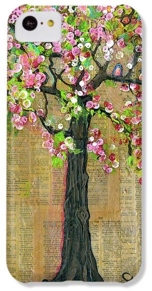 Lexicon Tree Of Life 4 IPhone 5c Case by Blenda Studio