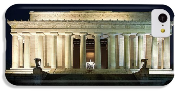 Lincoln Memorial At Twilight IPhone 5c Case by Andrew Soundarajan