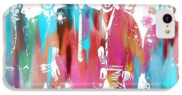 Linkin Park Watercolor Paint Splatter IPhone 5c Case by Dan Sproul