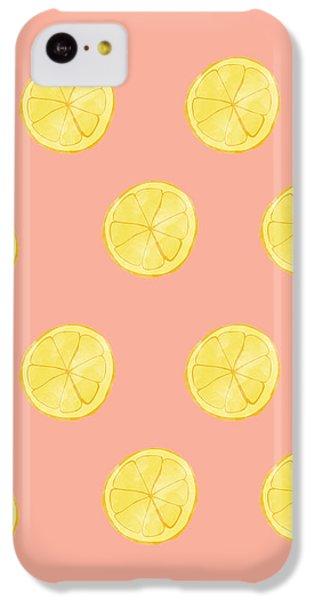 Little Lemons IPhone 5c Case by Allyson Johnson