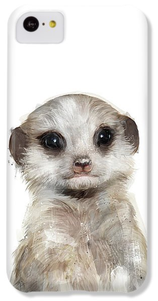 Little Meerkat IPhone 5c Case by Amy Hamilton