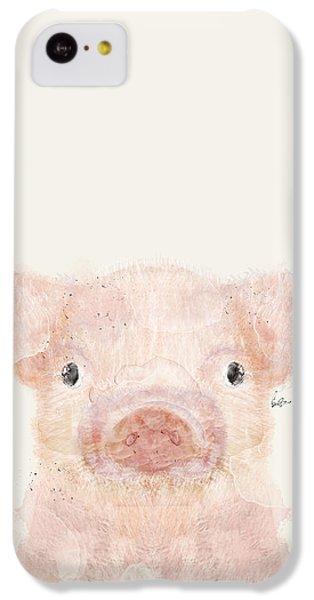 Little Pig IPhone 5c Case by Bri B