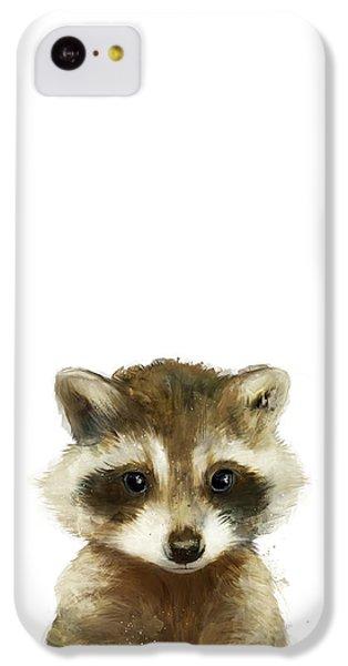 Little Raccoon IPhone 5c Case by Amy Hamilton