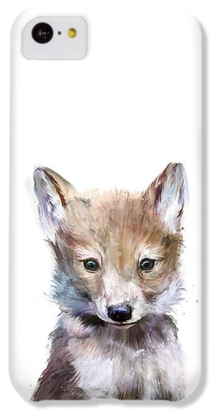 Little Wolf IPhone 5c Case by Amy Hamilton