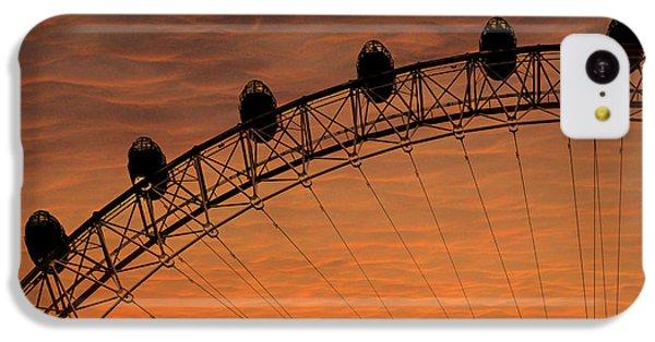 London Eye Sunset IPhone 5c Case by Martin Newman