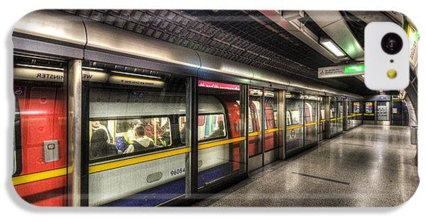 London Underground IPhone 5c Case by David Pyatt