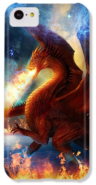 Lord Of The Celestial Dragons IPhone 5c Case by Philip Straub