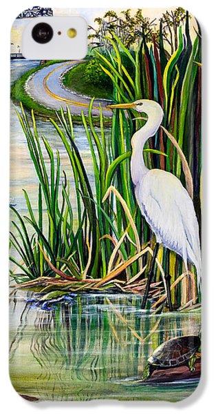 Louisiana Wetlands IPhone 5c Case by Elaine Hodges