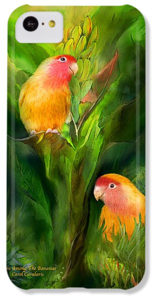 Love Among The Bananas IPhone 5c Case by Carol Cavalaris
