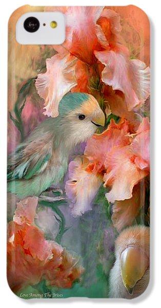 Love Among The Irises IPhone 5c Case by Carol Cavalaris
